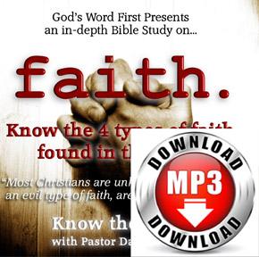 Bible Study on Faith Manifestation Audio Sermon MP3 Download