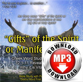 Gifts of the Spirit Audio Sermon mp3 Download