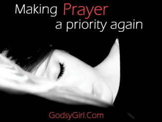 Tips for your prayer time