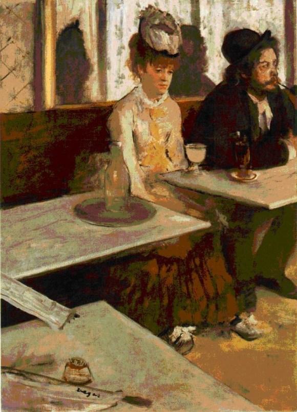 L'absinthe, Edgar Degas (1876), Musee d'Orsay, Paris