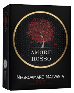Amore Rosso Negromaro Malvasia, BIB version 2