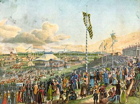 oktoberfest 1810. Kunstner ukjent