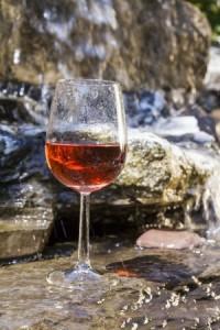 rosevin i glass