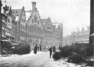 Julemarked i Frankfurt.
