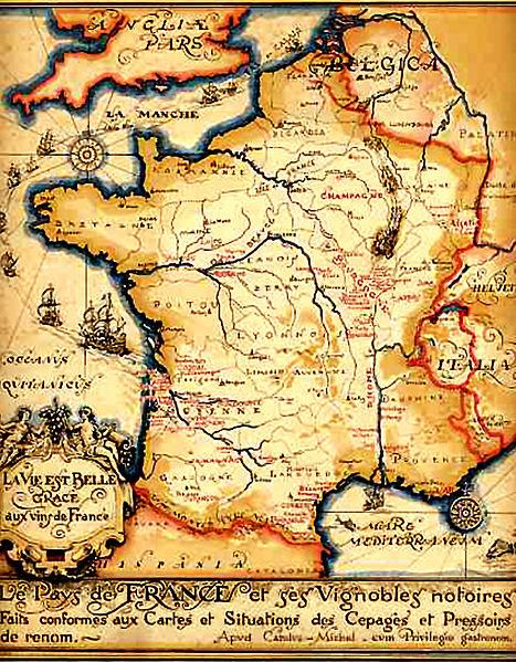Vinlandet Frankrike Godt Drikke