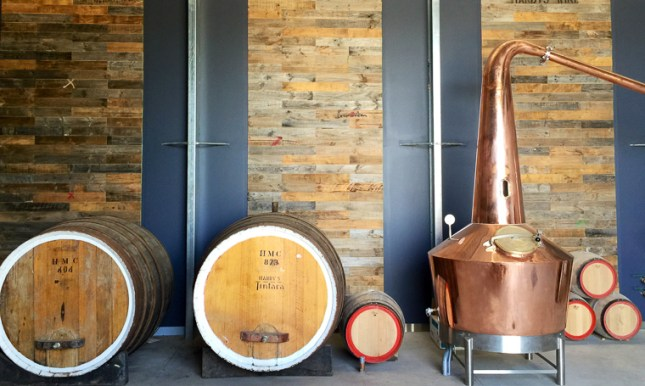 Turning wine into whisky in McLaren Vale