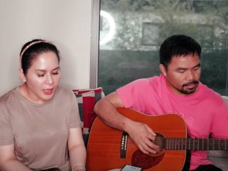WATCH: Manny Pacquiao and His Wife, Jinkee, Worship the Lord While in Quarantine