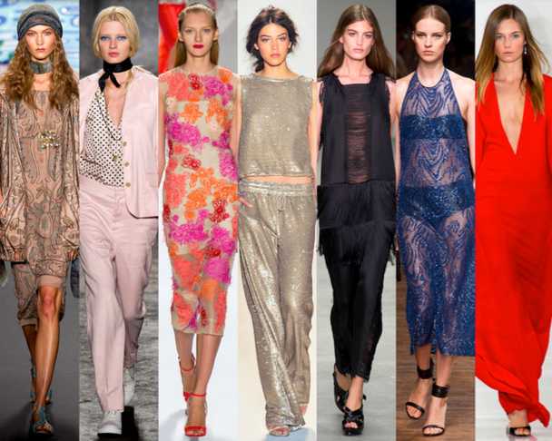 10 TENDENCIAS resumen de la NEW YORK FASHION WEEK PRIMAVERA-VERANO 2014