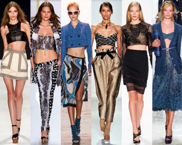 Crop-Tops-10-Tendencias-resumen-de-la-New-York-Fashion-Week-Primavera-Verano2014-godustyle