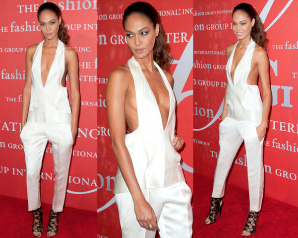JOAN SMALLS con jumpsuit de ALEXANDER WANG - 30TH NIGHT OF STARS GALA