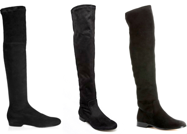 ROBERT CLERGERIE Fuji stretch-suede over-the-knee boots, 550€ (net-a-porter.com) - Ivanka Trump 'Monty' Over the Knee Boot, 130.97€ (nordstrom.com) - Calvin Klein Tall Boots Rae Stretch, 156.29€ (Bloomingdale's)