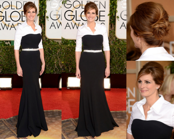 JULIA ROBERTS in DOLCE & GABBANA - 71st ANNUAL GOLDEN GLOBES AWARDS 2014