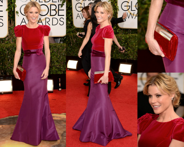 JULIE BOWEN in CAROLINA HERRERA - 71st ANNUAL GOLDEN GLOBES AWARDS 2014