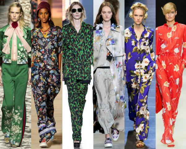 Slip Dresses y Pajamas visten el Verano 2016