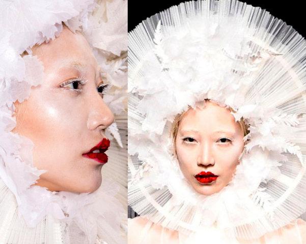 Jean-Paul-Gaultier-Top-Beauty-Look4-Couture-Otono-2016-godustyle
