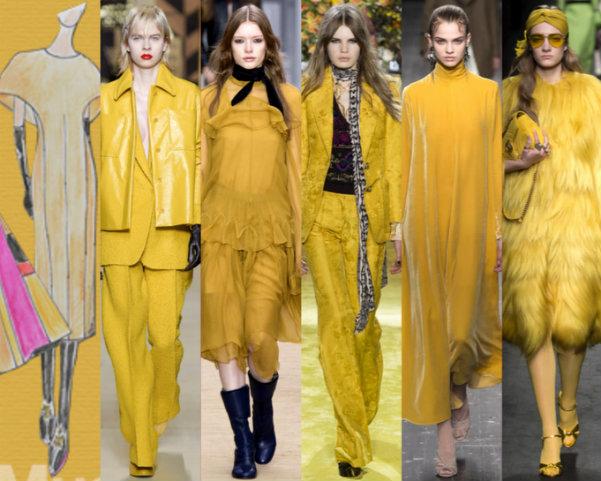 Colores de Moda Otoño 2016