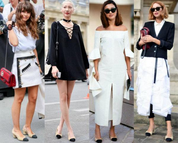 Chanel Slingback Street Style