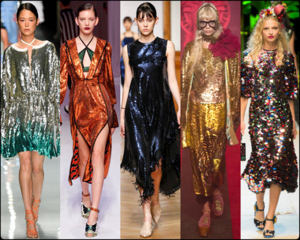 lentejuelas, sequins, tendencias primavera-verano 2017, tendencias, tendencias milan fashion week, milan fashion week, trends spring 2017, trends milan fashion week, trends