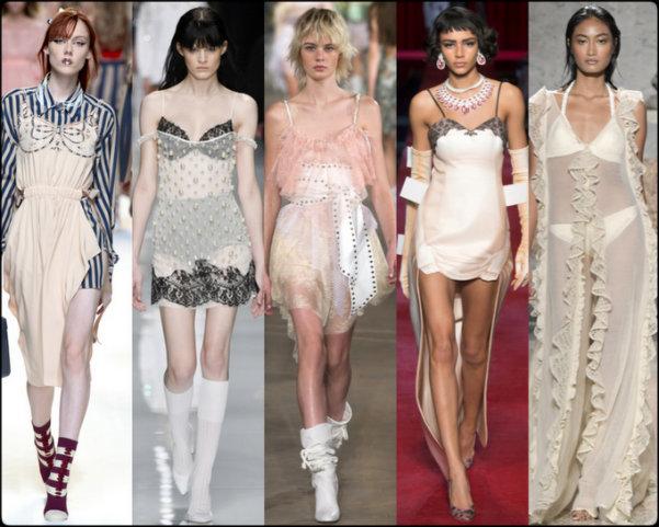 camisones, slip dresses, tendencias primavera-verano 2017, tendencias, tendencias milan fashion week, milan fashion week, trends spring 2017, trends milan fashion week, trends