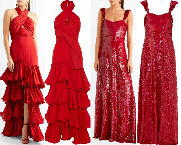 red dress, vestido rojo, shopping, vestidos fiesta, party dresses