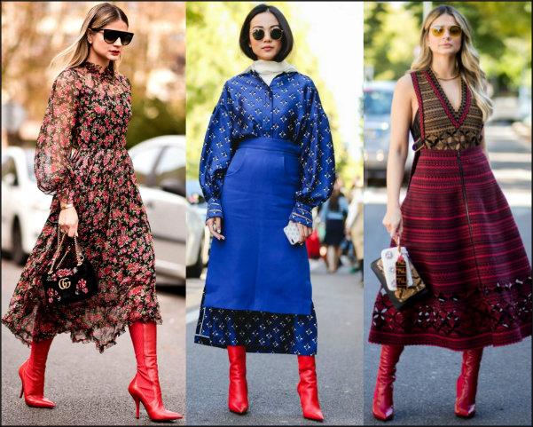 streetstyle, fendi, red boots, botas rojas, fendi rockoko, look, style