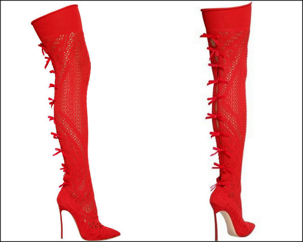 casadei, red boots, botas rojas, shopping, trend