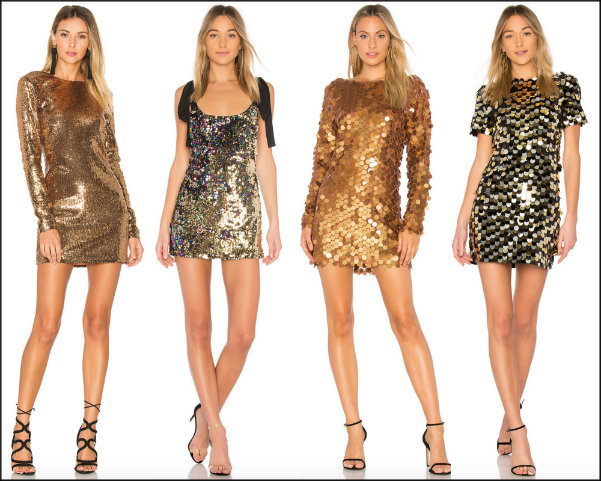 sequin dress, vestido lentejuelas, vestidos fiesta, party dresses, gold dress, sequin trend