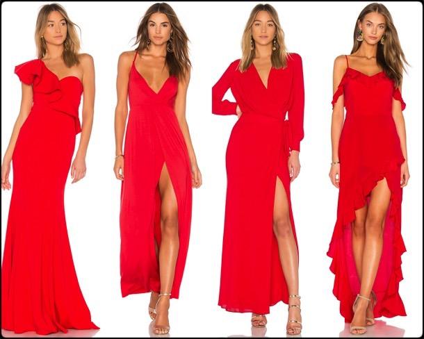 red dress, vestido rojo, shopping, vestidos fiesta, party dresses