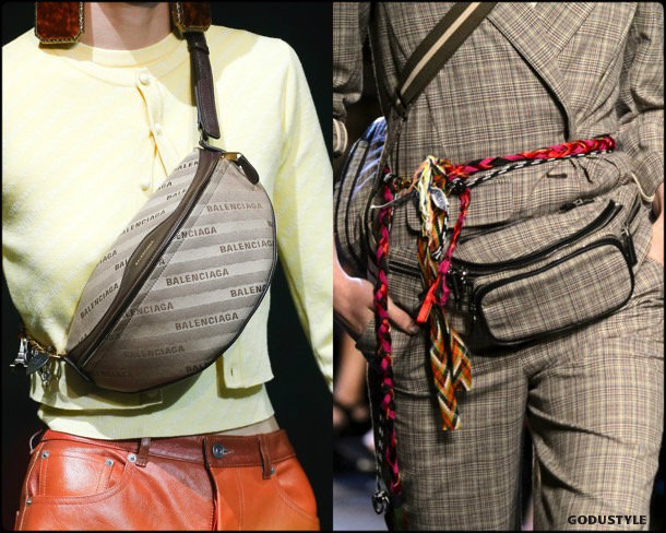fanny pack, belt bag, riñonera, spring 2018, it bag, trend, looks, style, runway, streetstyle, shopping, tendencia, bolsos