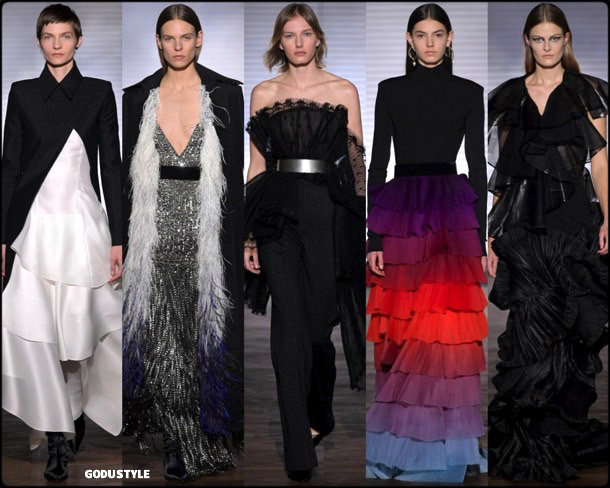 givenchy, couture, spring 2018, alta costura, verano 2018, looks, style, details, runways, fashion weeks