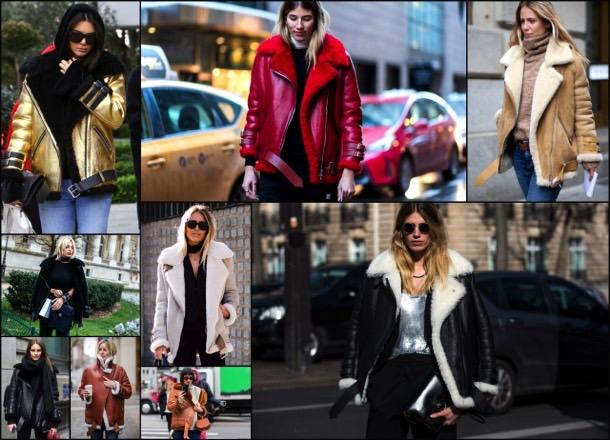 acne, acne studios, looks, celebrity fashion, winter fashion, fashion, jacket, leather jacket, shearling, streetstyle
