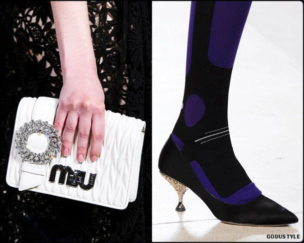miu miu, shoes, trends, zapatos, tendencia, spring 2018, verano 2018