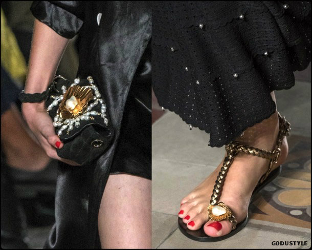pearls, perlas, trend, tendencia, shoes, zapatos, spring 2018, verano 2018, looks, streetstyle, runways