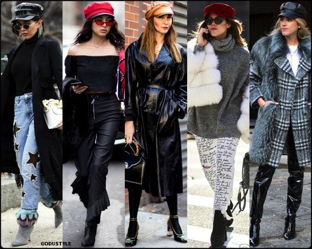 street style, trends, nyfw, fall 2018, baker boy, looks, otoño 2018, tendencias, invierno 2019, fashion