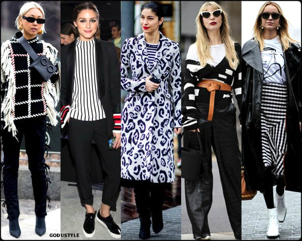 street style, trends, nyfw, fall 2018, black white, looks, otoño 2018, tendencias, invierno 2019, fashion