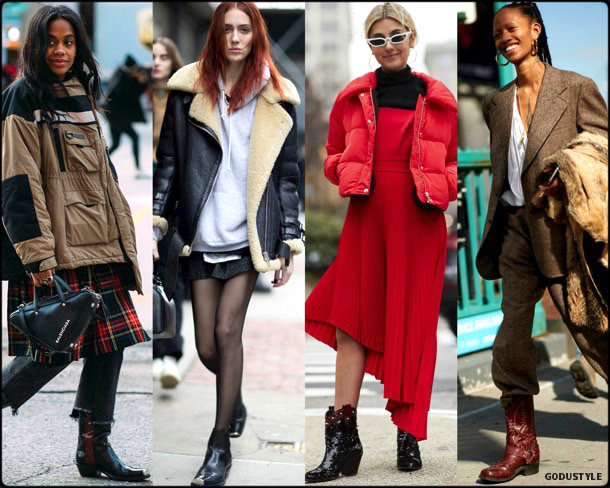 street style, trends, nyfw, fall 2018, cowboy boots, looks, otoño 2018, tendencias, invierno 2019, fashion