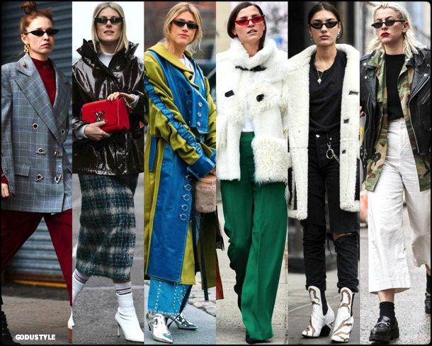 street style, trends, nyfw, fall 2018, cat eyes, looks, otoño 2018, gafas sol, tendencias, invierno 2019, fashion