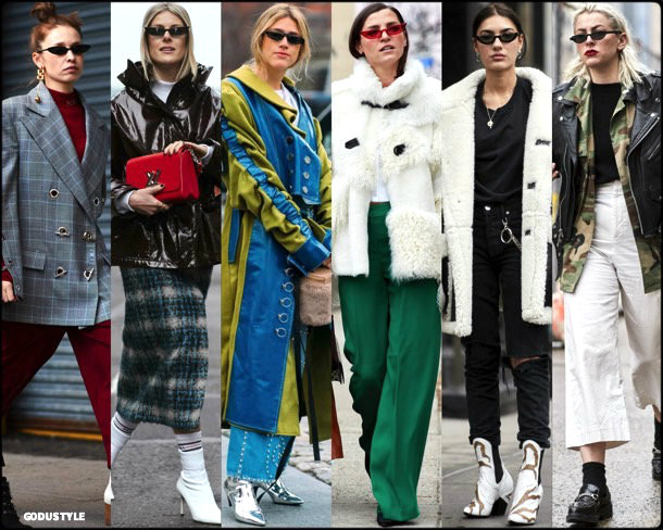 street style, trends, nyfw, fall 2018, cat eyes, looks, otoño 2018, gafas sol, tendencias, invierno 2019, fashion