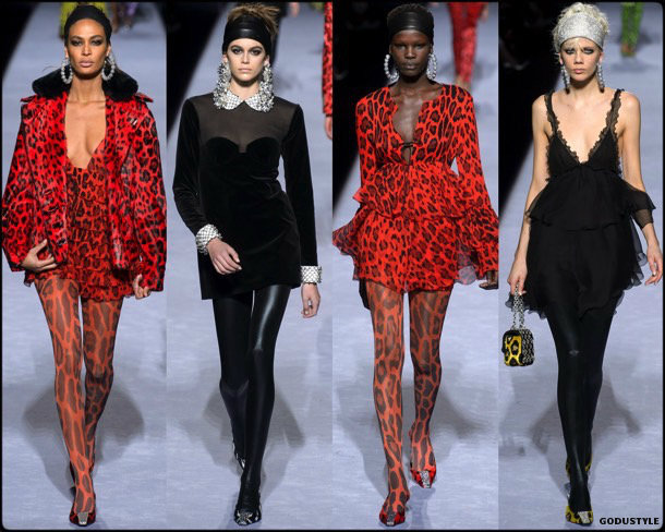 tom ford, fall 2018, collection, look, style, details, shoes, jewels, review, nyfw