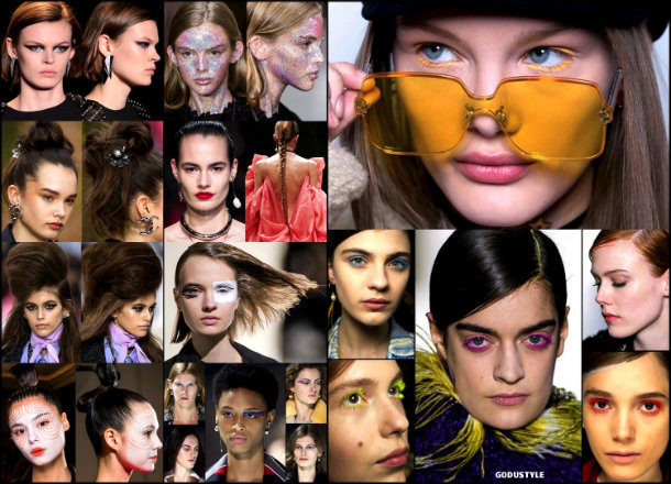 beauty, looks, beauty looks, fall 2018, trends, pfw, belleza, invierno 2019, tendencias, looks, style