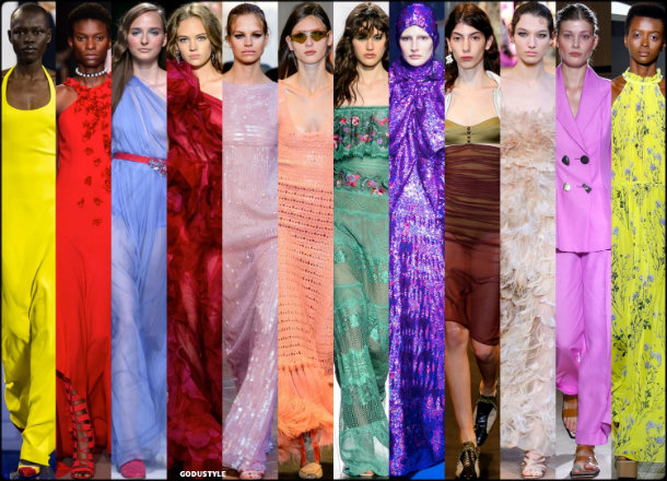 colors, spring 2018, trends, colores, tendencias, verano 2018, looks, style, runways, details