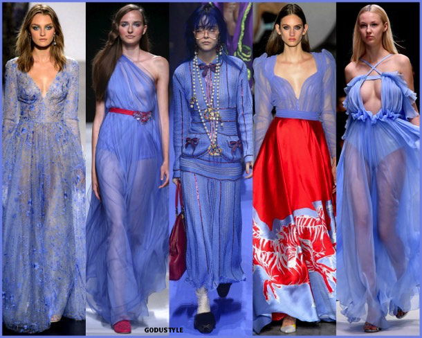 little boy blue, colors, spring 2018, trends, colores, tendencias, verano 2018, looks, style, runways, details