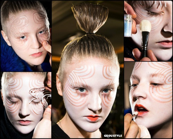 beauty, looks, manish arora, fall 2018, trends, pfw, belleza, invierno 2019, tendencias, looks, style