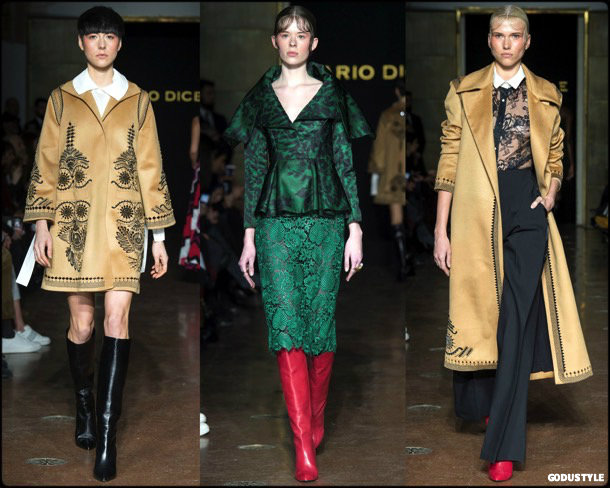 mario dice, fall 2018, looks, mfw, collection, review, style, details, shoes, fashion week