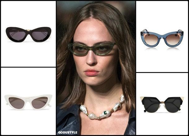 sunglasses, cat eye, summer 2018, trends, gafas sol, verano 2018, tendencias, looks, style, shopping