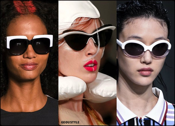 sunglasses, white frames, summer 2018, trends, gafas sol, verano 2018, tendencias, looks, style, shopping
