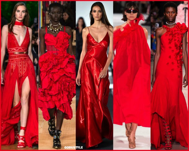 tomate cherry, colors, spring 2018, trends, colores, tendencias, verano 2018, looks, style, runways, details