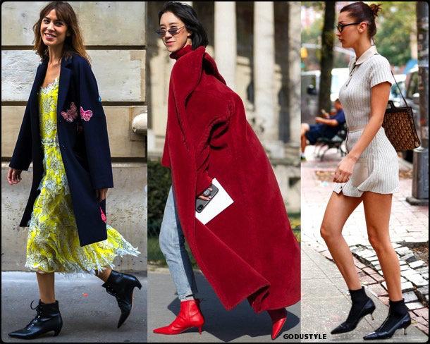 kitten heels, booties, spring 2018, trend, zapatos, botines, tendencia, verano 2018, looks, streetstyle