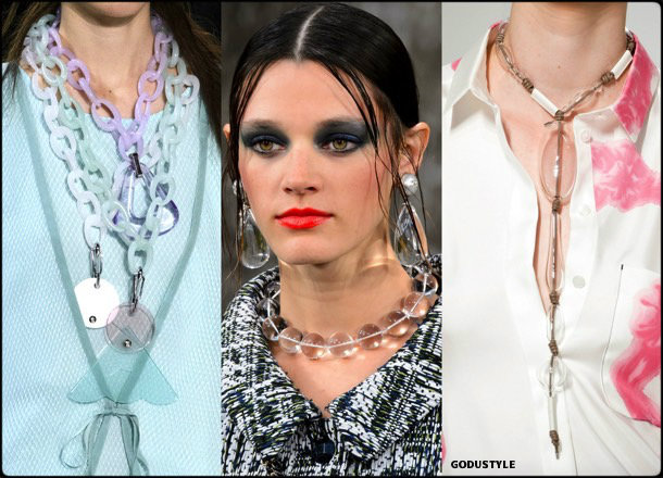 pvc, jewels, spring 2018, trends, joyas, tendencias, details, verano 2018, looks, runways, style