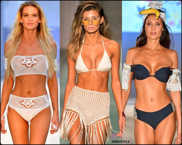 crochet, swim, spring 2018, trends, miami swim week, bikinis, tendencias, details, verano 2018, looks, style